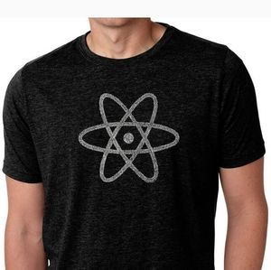 LA Pop art NWT elements atom graphic t-shirt